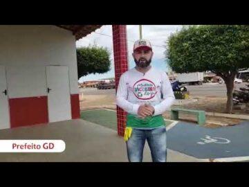 Gestão do prefeito GD realiza mutirão da limpeza em Jacobina do Piauí